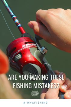 Are these simple fishing mistakes keeping you from reeling in the big one? Are these simple fishing mistakes keeping you from reeling in the big one? Going Fishing, Best Fishing, Kayak Fishing, Fishing Reels, Fishing Tips, Fishing Knots Braid, Trophy Fish, Cleaning Fish, Fish Finder