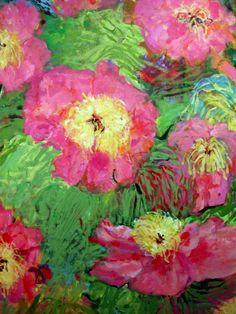 Peonies...artist, Sandy Welch