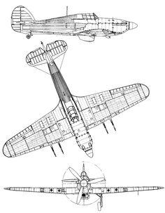 Hurricane Plane, Blackburn Buccaneer, Airplane Coloring Pages, Short Sunderland, Rc Plane Plans, Hawker Hurricane, Blue Prints, Futuristic Cars, Aviation Art