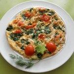 Ontbijt / Lunch recept: Heerlijke gevulde omelet