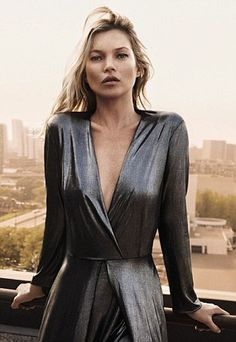 This is not the first time that Kate Moss has posed for the brand, which Miranda Kerr has ...