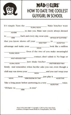 picture about Printable Mad Libs Sheets for Adults identify 29 Most straightforward Madlibs pics within 2017 Nuts libs, Crazy libs for
