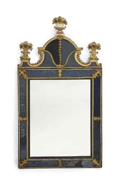 MIROIR A PARECLOSES D'EPOQUE R