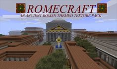 Romecraft Texture Pack para Minecraft 1.2.5