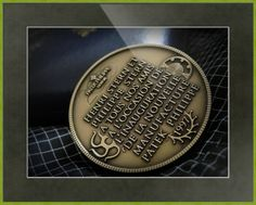 """Patek Philippe Geneve Commemorative Medal Coin // Paper: enhanced matte; Glazing: acrylic; Moulding: colorful, cyber green, square metal frame; Top Mat: green, spruce // Price starts at $113 (Petite: 16.75"""" x 18.75""""). // Customize at http://www.imagekind.com/Patek-Philippe-Geneve-PPG_art?IMID=02d2d878-c1ec-4135-b5f1-3c17e7a5ee8b"""