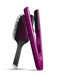 GHD V Pink Diamond Styler and Paddle Brush Set. Best Straightener On The Market For A Well Deserved Cause. | Tools