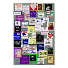 Get great 12 Step poster art created by our amazing designers. Create your own personalized posters in high quality! Alcoholics Anonymous, Friends Change, Spiritual Reality, Personalized Posters, Progress Not Perfection, Addiction Recovery, Make Your Own Poster, Spiritual Gifts