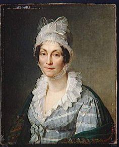 Edouard Liénard (1779-1848) - Portrait de Aldégonde Bathilde Mallet (1815)