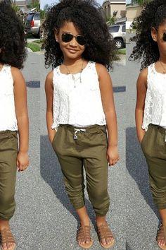 Girl Fashion Kids 10 Years Old Mädchen Mode Kinder 10 Jahre Alt - Body Goals Little Girl Outfits, Little Girl Fashion, Toddler Outfits, Cute Outfits, Teen Outfits, Kids Outfits Girls, Summer Outfits, Fall Outfits, Tween Fashion