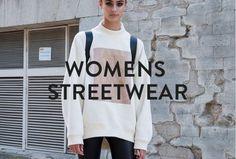 Urban Fashion, Street Style Women, Streetwear, Graphic Sweatshirt, Sweatshirts, Sweaters, Inspiration, Shopping, Street Outfit