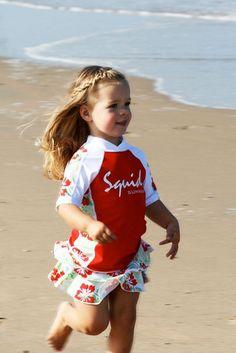 Kids Sunshirt Jungle Red http://www.zonnepakje.nl/product/kids-sunshirt-jungle-red/