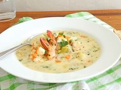 Seafood Chowder Creamy Recipe