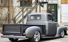 *1954 Chevy 3100 Truck Right Rear. Classic Truck