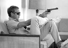 Vintage polo - Steve McQueen.  Known for his roles in his role in The Sand Pebbles, The Magnificent Seven, The Great Escape, and Papillon.  He was an avid racer of both motorcycles and cars.  If you have not seen Barbour's Steve Mcqueen line, you should check it out!