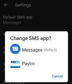 How to change default SMS app on Pixel 3 | Best useful tips