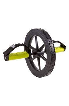 Free shipping and returns on GoFit Extreme Abdominal Wheel at Nordstrom.com. A sturdy exercise wheel features a solid premium rubber tire with Go-Grip™ treads for stability as well as a bushing for smooth rolling action. Rubber hand/foot pedals are soft to the touch and are furnished with adjustable hook-and-loop straps for a secure fit.