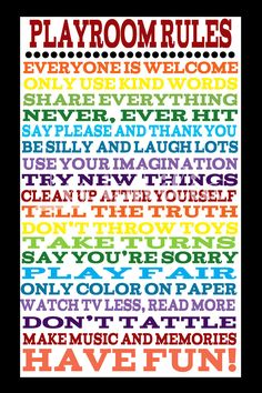 Love this! It is definitely going in our playroom :)