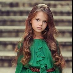 I would deff let my little girls hair grow out. And i love the top.:) Too cute.