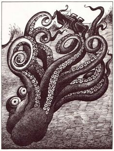 The Headless Horseman Rides Tonight Jack Prelutsky ~ Arnold Lobel ~ Greenwillow Books, 1980 Vintage Italian Posters, Vintage Children's Books, Vintage Kids, Creepy Sketches, Arnold Lobel, The Darkling, Vladimir Kush, Creature Drawings, Drawing Animals