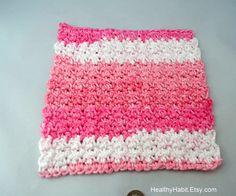 crocheted dishcloth | Dishcloth Scrubbie Crochet PATTERN on Etsy - Microsoft Word Washcloth ...