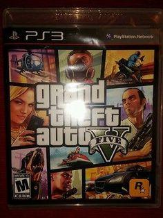 Grand Theft Auto V 5 New Playstation 3 Gta Sealed 2014 One Sony Rockstar Game Gta 5 Xbox 360, Gta 5 Pc, Newest Playstation, Grand Theft Auto, San Andreas, Fallout, Gta V Five, Rockstar Video Games, Gta V Cheats