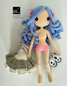 Hello everyone! This is Kallie ~ The Party Girl  Kindly note that this is not a finished product. It is an ENGLISH Amigurumi crochet downloadable pattern in PDF format. There are altogether 13 pages, with pictures and easy instructions to help you along. The pattern will be available