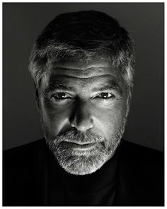George Clooney By Marco Grob