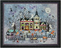 Croaking Toad Manor from Praiseworthy Stitches - click for more