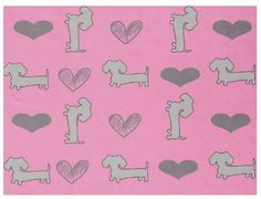 Fleece Blanket | Hearts & Doxies – The Smoothe Store