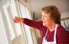 Oldfruens fif til at pudse vinduer