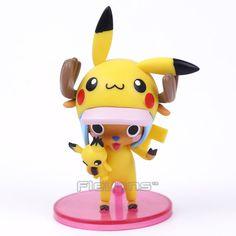 $9.91 (Buy here: https://alitems.com/g/1e8d114494ebda23ff8b16525dc3e8/?i=5&ulp=https%3A%2F%2Fwww.aliexpress.com%2Fitem%2FAnime-One-Piece-Tony-Tony-Chopper-Cos-Pikachu-PVC-Figure-Collectible-Model-Toy-12cm%2F32767149019.html ) Anime One Piece Tony Tony Chopper Cos Pikachu PVC Figure Collectible Model Toy 12cm for just $9.91