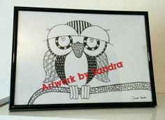 Owl design for sale & prints on request Art Paintings For Sale, Owl, Prints, Design, Owls, Design Comics, Printmaking