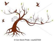 """Résultat de recherche d'images pour """"silhouette arbre stylisée"""""""