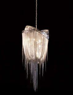 Jellyfish Tentacle Chandelier