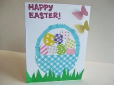 Washi Tape Easter Cards: Washi Tape Easter Cards