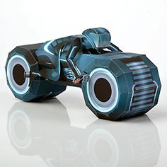Tron: Legacy Paper Craft Templates