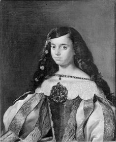 (an infanta?) by Juan Carreno de Miranda