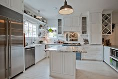 Nice and clean kitchen. :)