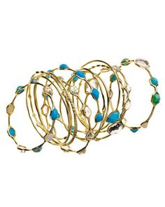 I love these, THE GOLD AND THE TEAL