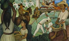 Diego Rivera | Sugar Cane