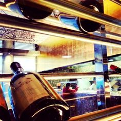 Modern and contemporary #wine storage. #AzulFives @AzulHotels #GourmetInclusive # Karisma hotels gourmet inclusive gimemories riviera maya vacation travel paradise mexico honeymoon anniversary beach wedding  azul