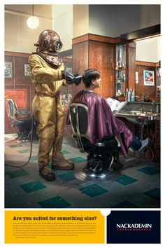 Hairdresser - are you suited for something else...? Campaign about working in the right place - again.