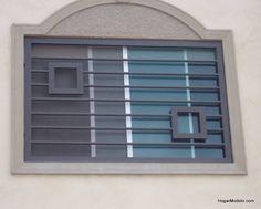 Home Window Grill Design, Grill Gate Design, Window Grill Design Modern, Balcony Grill Design, Front Gate Design, Modern Exterior House Designs, House Gate Design, Railing Design, Window Design