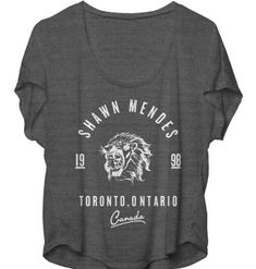 Shawn Mendes Shirt size large