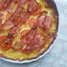 Cooking Cookies, Greek Recipes, Hawaiian Pizza, Bacon, Diy Food, Tapas, Recipies, Good Food, Brunch