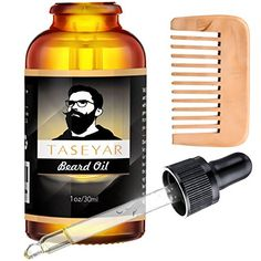 Hand Crafted Caveman® Beard Oil Beard Conditioner Free Wooden Beard Comb Caveman Easy To Lubricate Treatments, Oils & Protectors