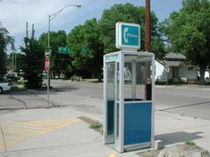Nebraska-this is in Ogallala!  Killian used to talk about this phone booth all the time before they removed it.