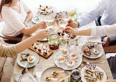 Spaß mit Freunden im-Restaurant Istrian-Tapas der Lifeclass-Hotels