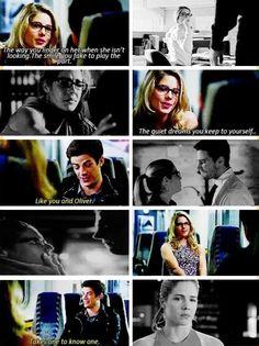 #Arrow #TheFlash #Oliver #Felicity #Barry #Olicity ♥