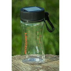 Solar Powered Water Bottle & LED Lamp - Only £10!!